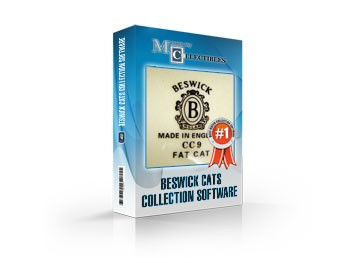 Beswick Cats Collection Software