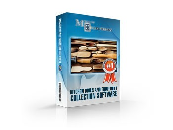 Kitchen Tools and Equipment Collection Software