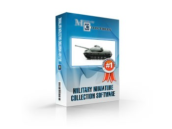 Military Miniature Collection Software