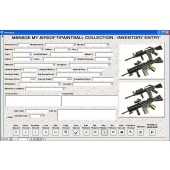 Airsoft Paintball Gun Collection Software